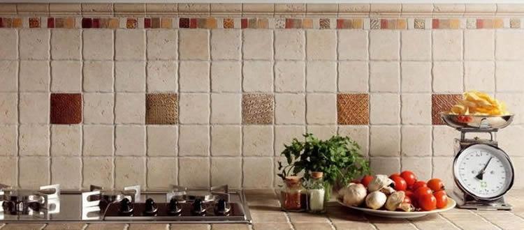 Piastrelle decorative in cucina una tendenza arredo 2018 ceramiche edilux - Piastrelle decorative ...